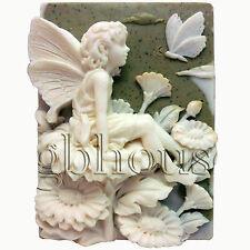 EGBHOUSE, Season fairy - 2D Autumn fairy silicone Mold, Soap mold, Plaster Mold