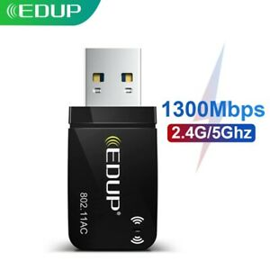 1300Mbps Mini USB 3.0 Wifi Adapter Wifi Network Card Dual Band 5.8G/2.4GHz USB