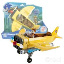 New Sonic Boom Tail's Plane & Tails Figure w/ Back Seat Ejector Official