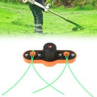 Universal Grass Cutter Trimmer Head With Line String for Lawn Mower Brush Cutter