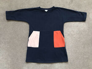COS Girl's Navy Dress, Age 4-6 - EXCELLENT CONDITION