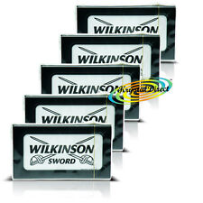 25 Wilkinson Sword Double Edge Cut Throat Razor Blades