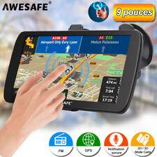 "AWESAFE 9"" GPS Navigator Portable Navigation de Camion avec 8Go Europe Cartes"