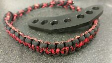 Archery bow wrist sling strap red and black, Bling Sling, Free ship
