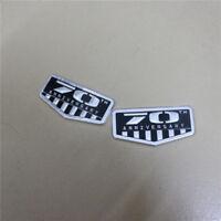 Pair AMG Big Aluminum Alloy Emblem Side Sticker Badge Decal Racing Sport glc #1