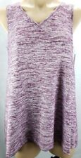 Sonoma Womens Sleeveless Tank Top V-Neck New Purple Blue Green