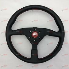 MOMO MONTECARLO RED Leather steering wheel 350MM 11111785BKREL IN STOCK!