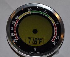 Caliber 4R Digital meets analog Hygrometer for your cigar humidor