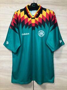 Germany 1994-1996 Vintage Away Football Shirt Soccer Jersey Trikot #18 sz XL
