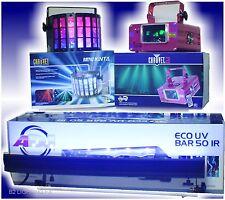 3 TOP WOW LIGHTS! Dual Laser, Mini Kinta & ECOUV BAR 50 IR BLACKLIGHT!