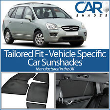 Kia Carens 5dr 2006-13 UV CAR SHADES WINDOW SUN BLINDS PRIVACY GLASS TINT BLACK