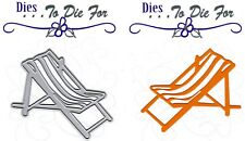 Dies...to die for metal cutting craft die Beach Chair - Summer Outdoors