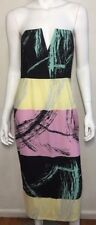 SHONA JOY boned strapless Occasion dress ~ sz 10  (J26)