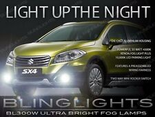 2014 2015 2016 Suzuki SX4 Xenon Halogen Driving Light Fog Lamp Kit