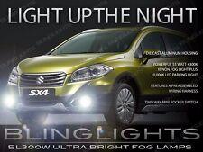 2014 2015 2016 Suzuki SX4 Xenon Halogen Driving Light Fog Lamp Kit