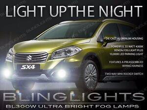 Xenon Halogen Driving Light Fog Lamp Kit for 2014 2015 2016 Suzuki SX4