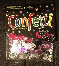 Bachelorette Party Girls Night Out Confetti Bride Wedding Bachelorette Party