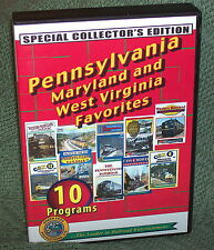 "20249 TRAIN VIDEO DVD BOX SET ""PENNSYLVANIA, MARYLAND & WEST VIRGINIA FAVORITES"""