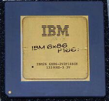 IBM 6x86 PR166+ 133 MHz 2x 66MHz Sockel 7 Prozessor CPU Goldcap 6x86-2V2P166GE