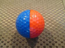 PING GOLF BALL/S-RED/DARK BLUE PING EYE 2 #2.........8.5/10.......NO LOGO..