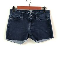 7 For All Mankind Homemade Cut Off Shorts Lexie Petite Size 26 Waist