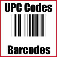 1000 UPC Codes Certified UPC EAN Numbers Barcodes US CA UK EU CA IN TR
