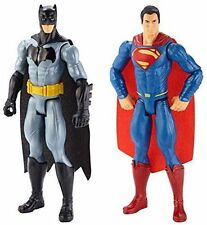 Mattel Batman & Superman 30cm Figurines Pack of 2