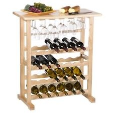 Chateau 24 Bottle Wine Serving Table