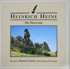 HEINRICH HEINE - DIE HARZREISE - SPRECHERIN MARTINA GEDECK  - 2 CD