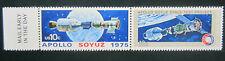 Us 10c #1569-1570-Apollo Soyuz Space Test Project 1975 Mnh Mr. Zip Blocks of 2