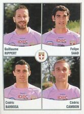 577 RIPPERT - SAAD - BARBOSA - CAMBON EVIAN ETG STICKER FOOT 2011 PANINI