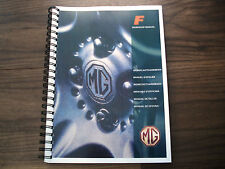 ~ PRINTED~ MGF  Workshop Manual with BONUS Gearbox & Engine Manuals