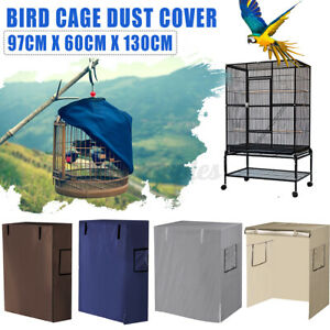 Bird Cage Cover Shell Guard Catcher Bag Skirt Parrot Pet Net Area Protecto L