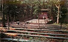 Olive City Kentucky~Carter Cave State Park~Amphitheatre~Rustic Benches 1960s