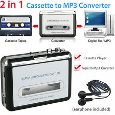 Tape to PC USB Cassette Convertitore MP3 Cattura lettore audio digitale