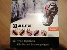 Winter Spikes Wandern Ski Schnee Equipment Wintersport Neu 30-35
