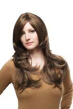 PERRUQUE pour femmes,Perruque,brun moyen,brun clair,RAIE,Postiche,55 cm,3117-10