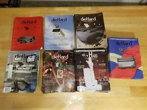 Diehard Magazine The Flyer for Commodore 8bitters (7 issues) Commodore 64 16