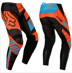 Boys Fox Racing 180 Motocross Riding Pants Sz 10-26 ATV Dirt bike Protective
