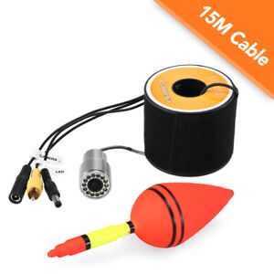 1200TVL Underwater Fishing Camera 12LEDs  Waterproof With 15m Cable V7D7