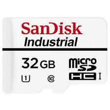 10 x 32GB SanDisk Micro SD Industrial SDHC Memory Card C10 TF UHS-I U1 Origial
