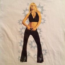 BRITNEY SPEARS 2002 TOUR T-Shirt Dream Within A Dream vintage concert