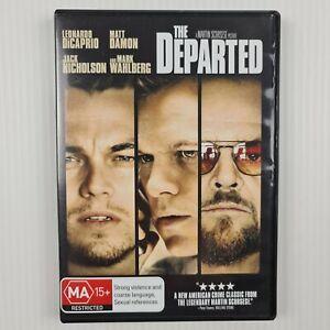 The Departed DVD - Leonardo DiCaprio - Matt Damon - Region 4 - TRACKED POST