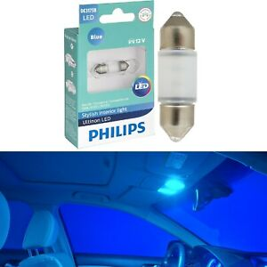 Philips Ultinon LED Light DE3175 Blue 10000K One Bulb Interior Map Replace OE