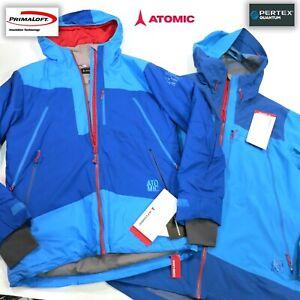 $700 Men's Atomic Cliffline Stormfold Jacket (2 in 1)  Size Medium Blue NWT SAVE
