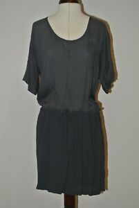 James Perse Blue/Grey 100% Viscose Dress Size 1