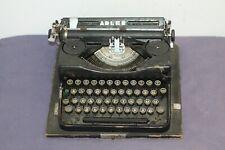 Antique Vintage Germany Adler Mod 32 Typewriter . 30's .