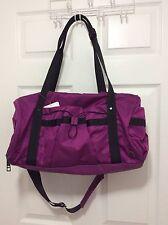New With Tag Lululemon Run Ways Duffel Regal Plum Gym Yoga Travel Bag