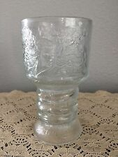 "The Lord of the Rings 6"" Glass Goblet 2001 The Fellowship of the Ring Arwen Elf"