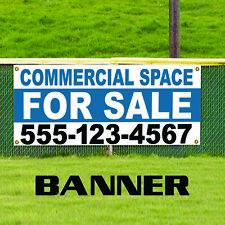 Commercial Space For Sale Plastic Novelty Indoor Outdoor Vinyl Banner Sign